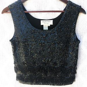 Adrianna Papell Evening Beaded Top
